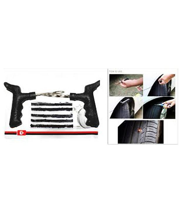 Tubeless Tyre Puncture Repair Kit For Cars