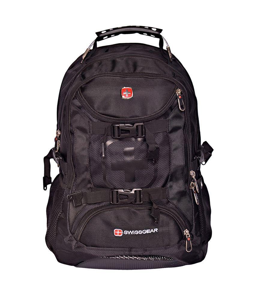 Swissgear Black Backpack - 9337 - Buy Swissgear Black Backpack ...