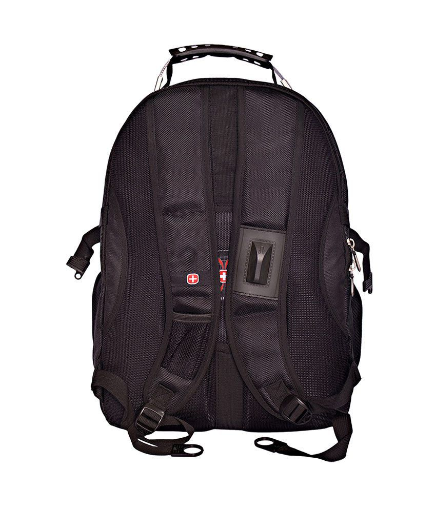 Swissgear Black Backpack - 9337 - Buy Swissgear Black Backpack ...