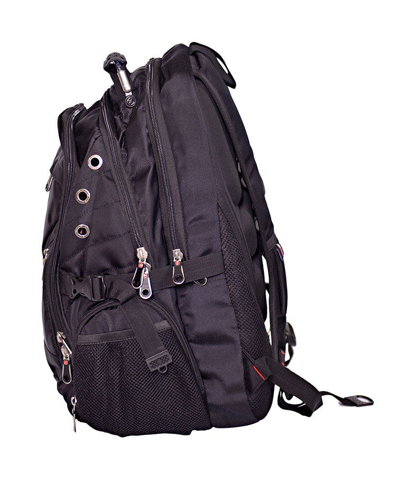 Swissgear Black Backpack - Sa-1418 - Buy Swissgear Black Backpack ...