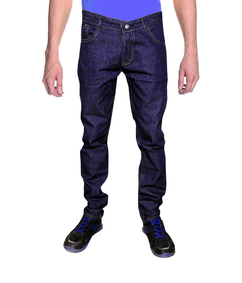 Stalone Black Regular Fit Jeans