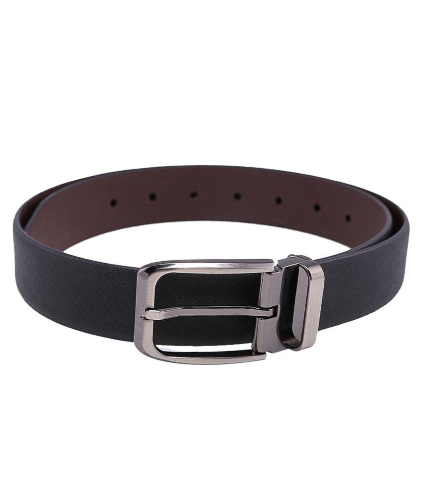 Tossido Black$Brown Formal Reversible  Belt  ForMen