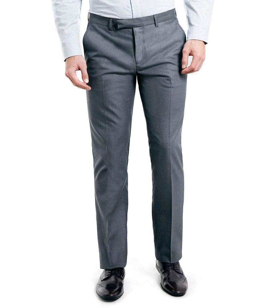 Merakapda Premium Formal Trouser- Gray