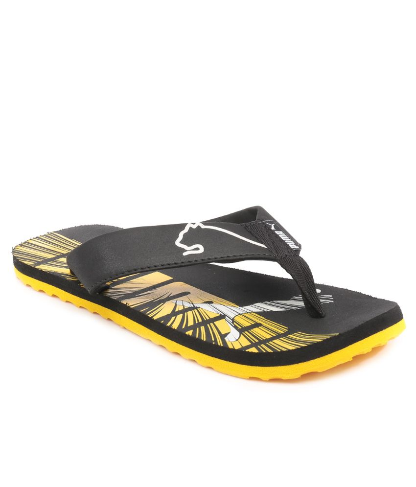 Puma Florida DP Yellow Slippers