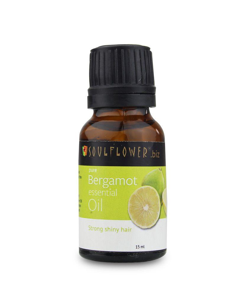 Soulflower Bergamot Essential Oil 15ml