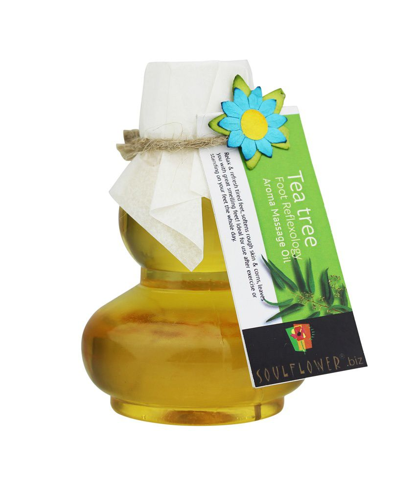 Soulflower Foot Reflexology Aroma Massage Oil