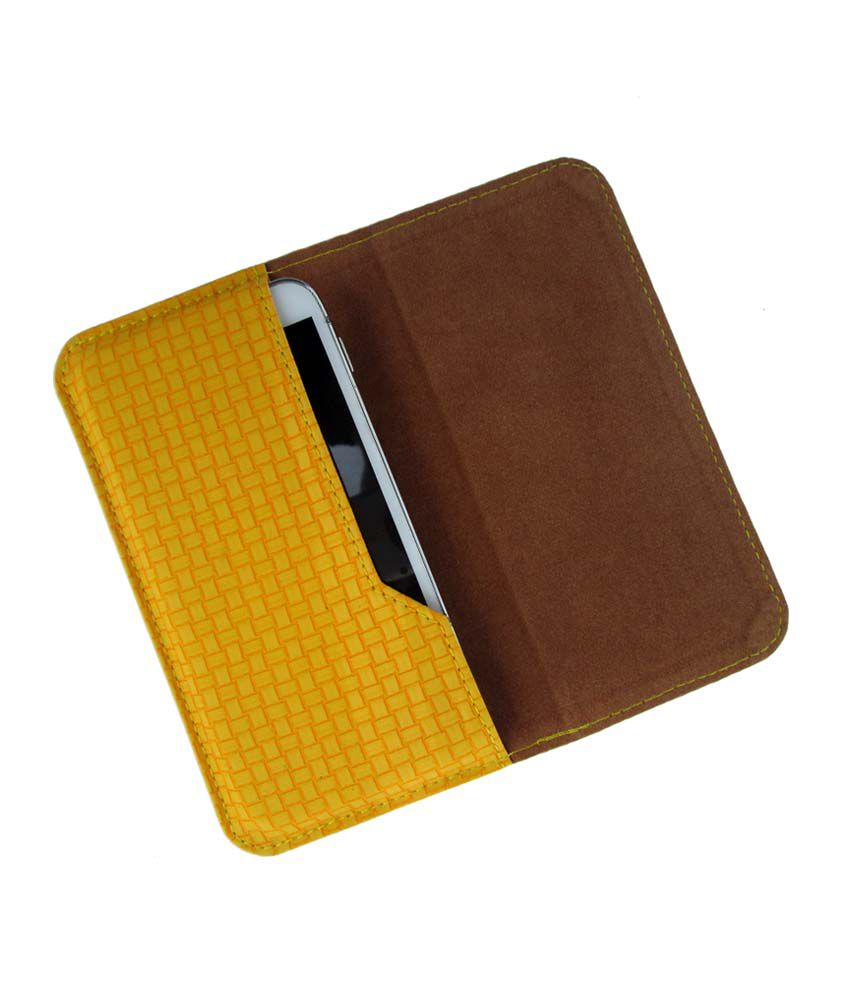 Ikitpit Pu Leather Flip Pouch Case Cover For Htc Explorer A10e