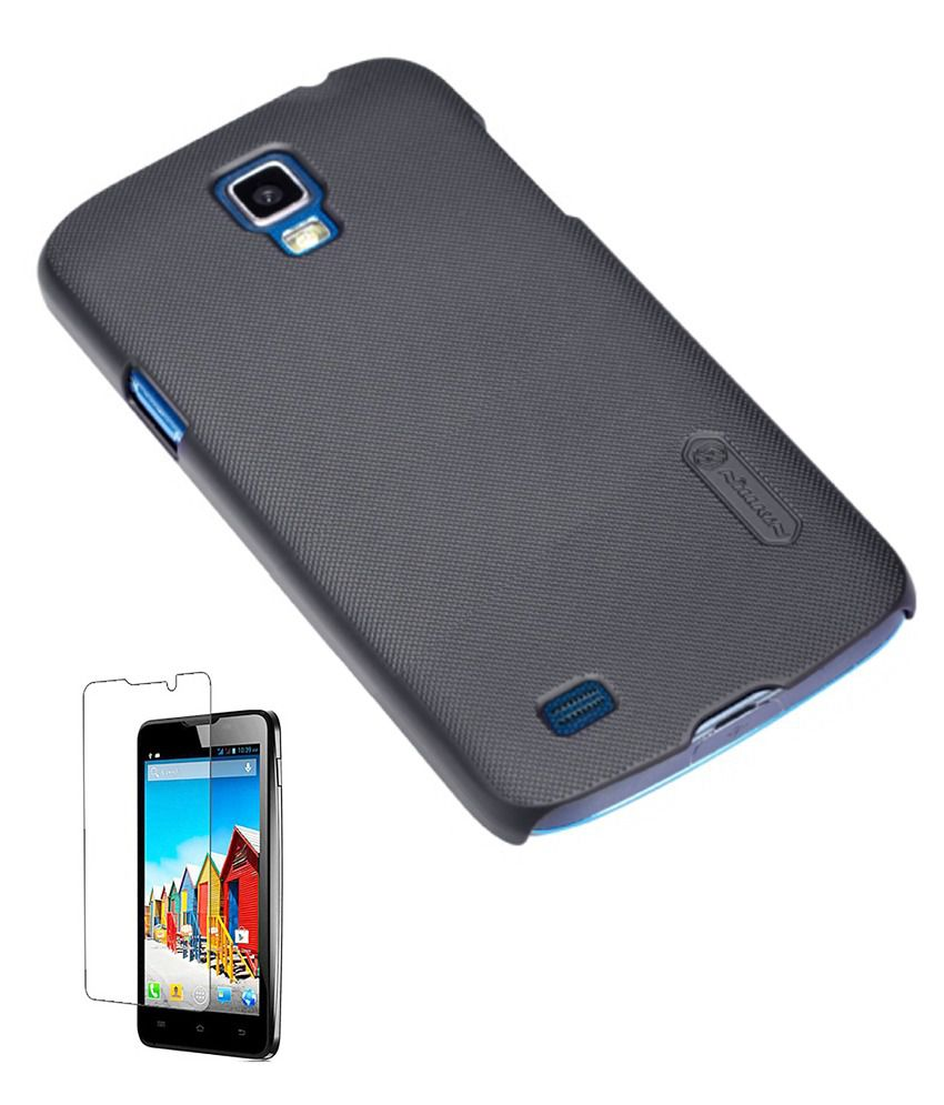 Nillkin Samsung Galaxy S4 I9500 Ultrathin Frosted Series Back Cover New All Black Case
