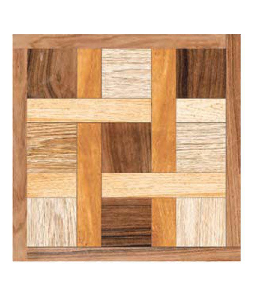 Kajaria Ceramic Floor Tiles (Kashmir Wood): Buy Kajaria ...