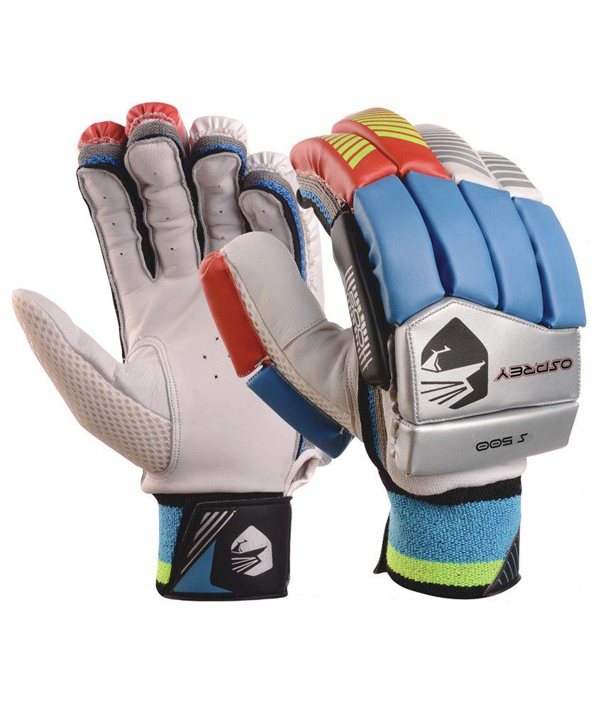 Osprey mens leather gloves - Osprey S 500 Cricket Batting Glove Mens
