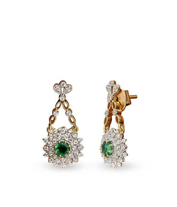 Shashvat Jewels Silver Stunning Hanging Floral Earring