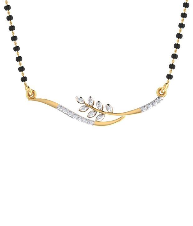 Mani Jewel 14Kt  Gold Stellar Tanmaniya Pendant