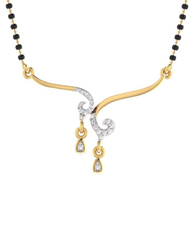 Mani Jewel 14Kt  Gold Symbolic Tanmaniya Pendant