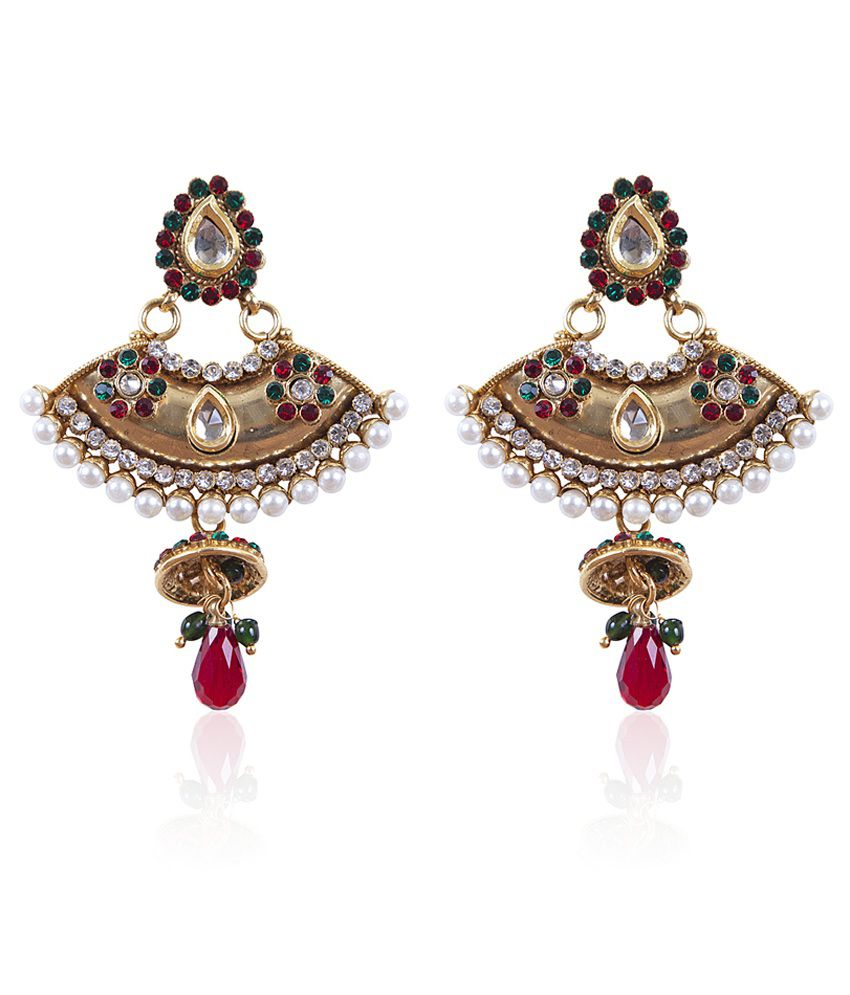free jhumki women silver for shipping handmade oxidised rajasthani pin earrings
