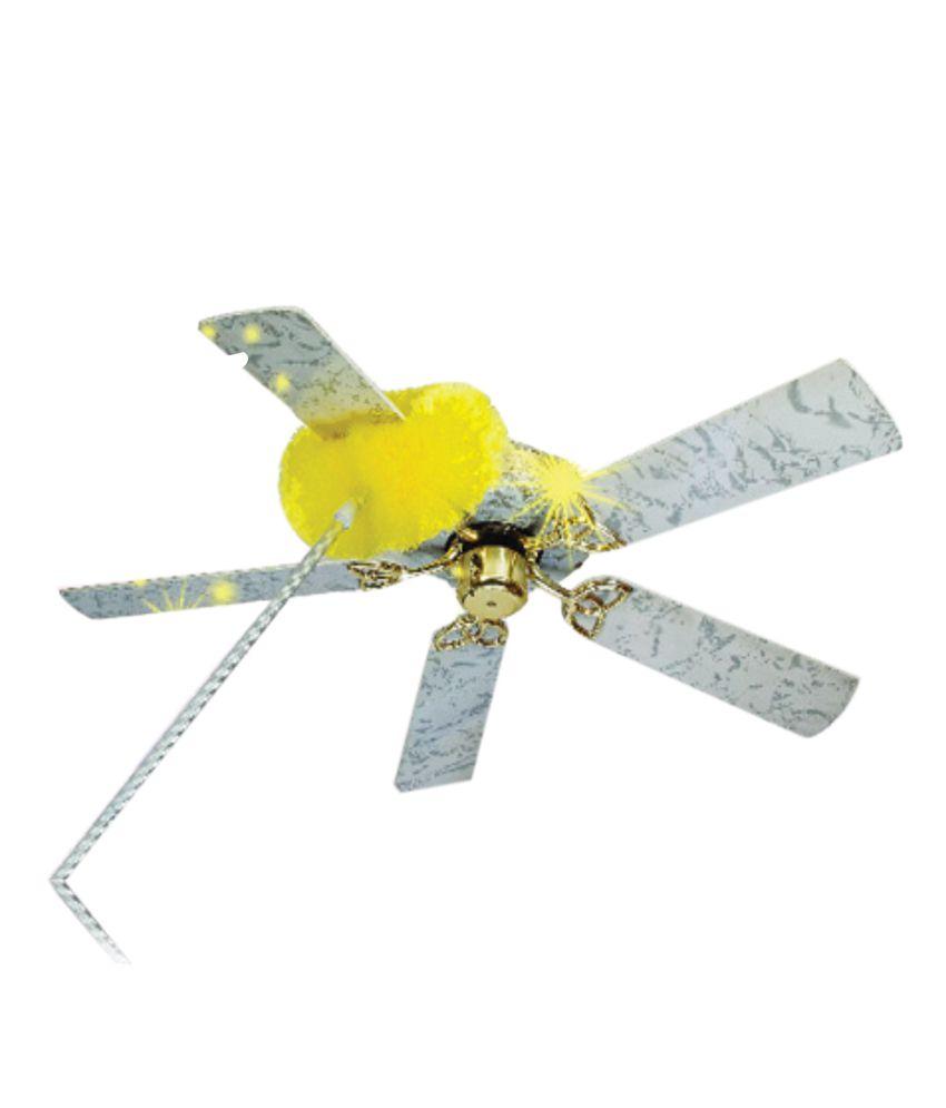 Nion Light Green Plastic Microfibre Ceiling Fan Duster