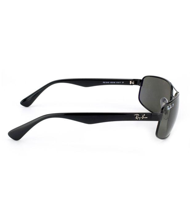 7caa889fd04 Ray-Ban RB3445 002 58 Rectangle Polarized Size 61 Sunglasses - Buy ...