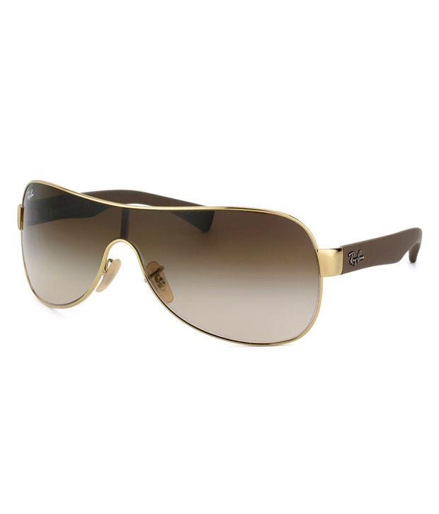 da6e642e2e Ray-Ban Brown Wrap Around Sunglasses (RB3471 001 13) - Buy Ray-Ban Brown  Wrap Around Sunglasses (RB3471 001 13) Online at Low Price - Snapdeal