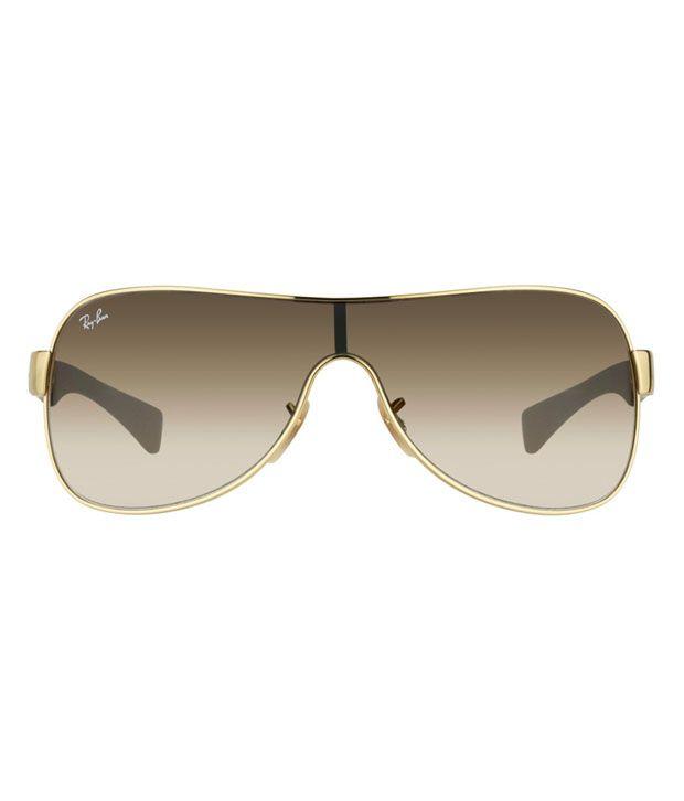 23d0e5ae3c Ray-Ban Brown Wrap Around Sunglasses (RB3471 001 13) - Buy Ray-Ban ...