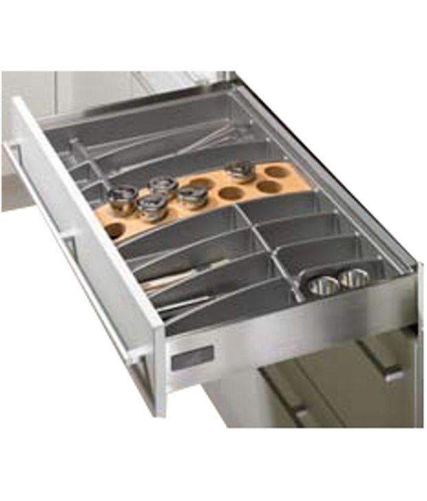 Hettich Stainless Steel Cutlery Tray