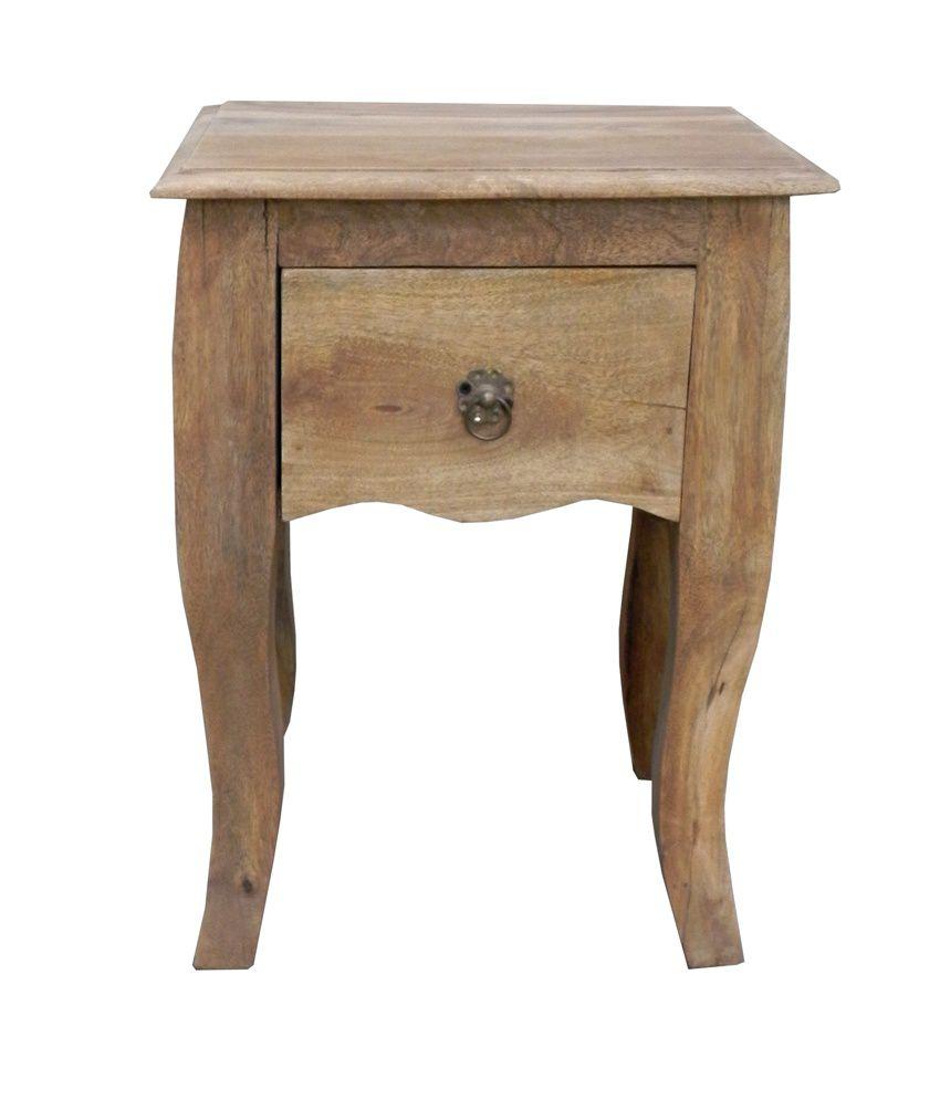 Wooden Stool Cum Bedsider