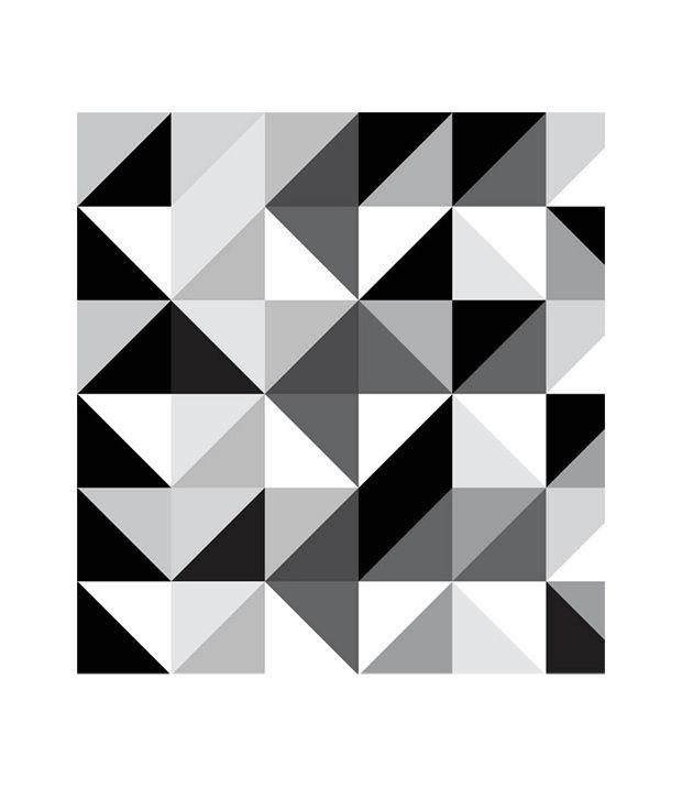 Paw Black White Diamonds Wallpaper Panel Buy Paw Black