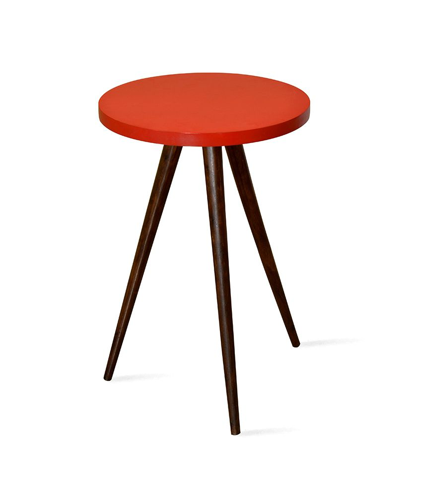 Zidane Side Table Red