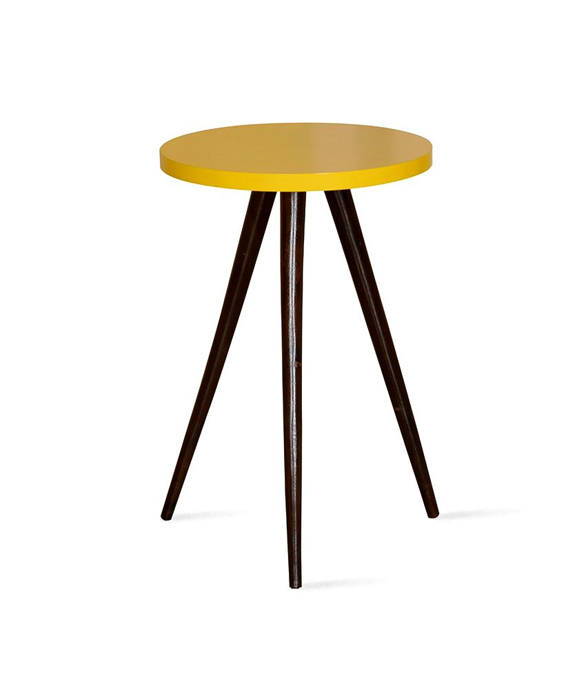 Zidane Side Table Yellow