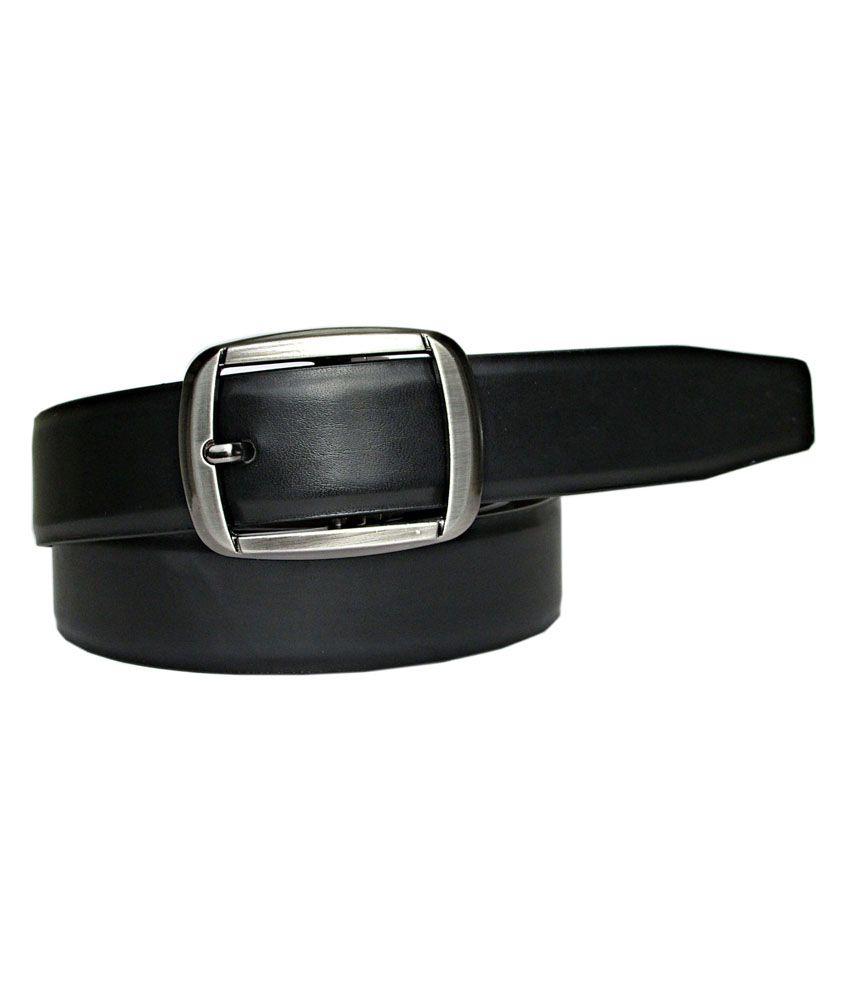 Abhinav's Reversible Stylish Black & Brown Italian Leather Belt