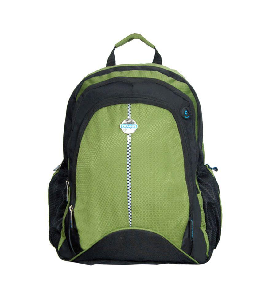 Cosmus Entreprises-comet Green Laptop Bags