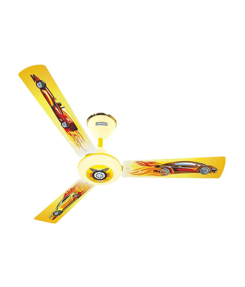 Luminous 16 X 16 Room Play Ceiling Fan Car Price In India
