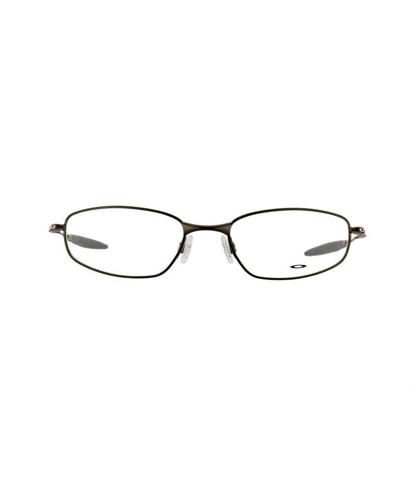 ab8078e8ad ... Oakley OX-3107-02-55 Whisker Grey Rectangular Unisex Eyeglasses Frame  with Carry ...