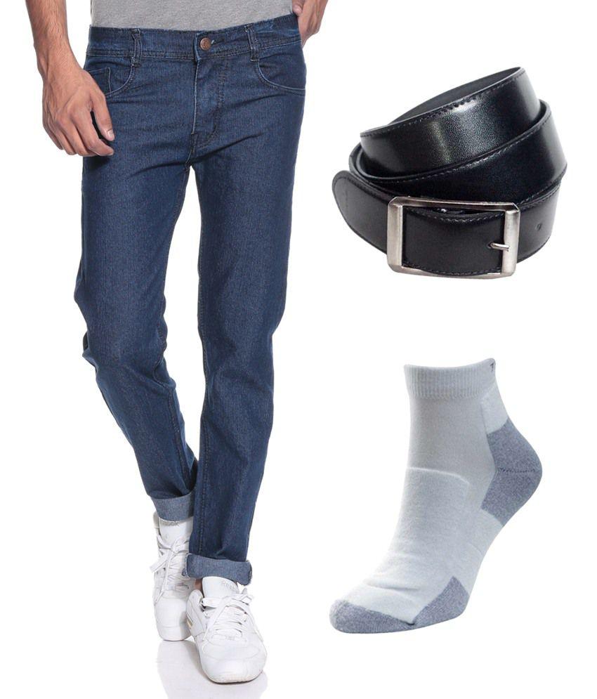 Coaster Blue Slim Jeans