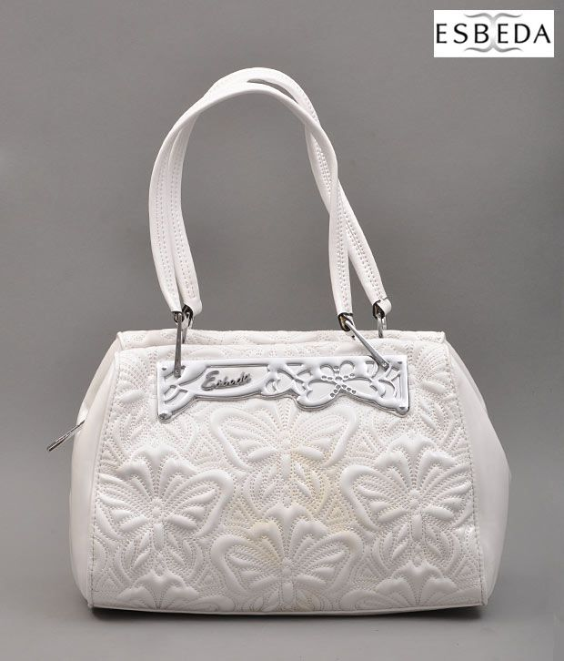 377bc9c760e Esbeda White Butterfly Purse - Buy Esbeda White Butterfly Purse Online at Best  Prices in India on Snapdeal