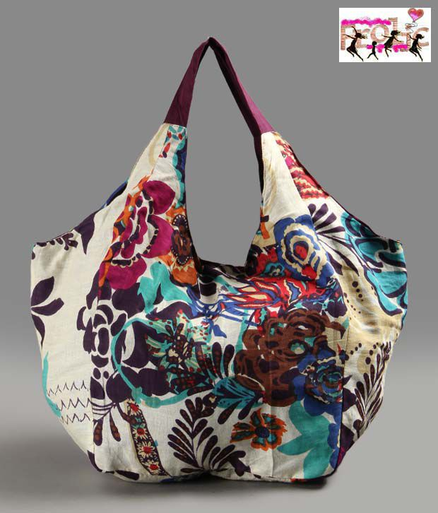 Frolic Multi Colour Hobo Bag