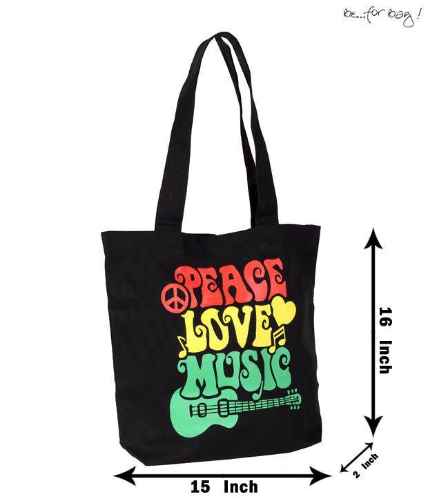 Be For Bag Fascinating Black Handbag