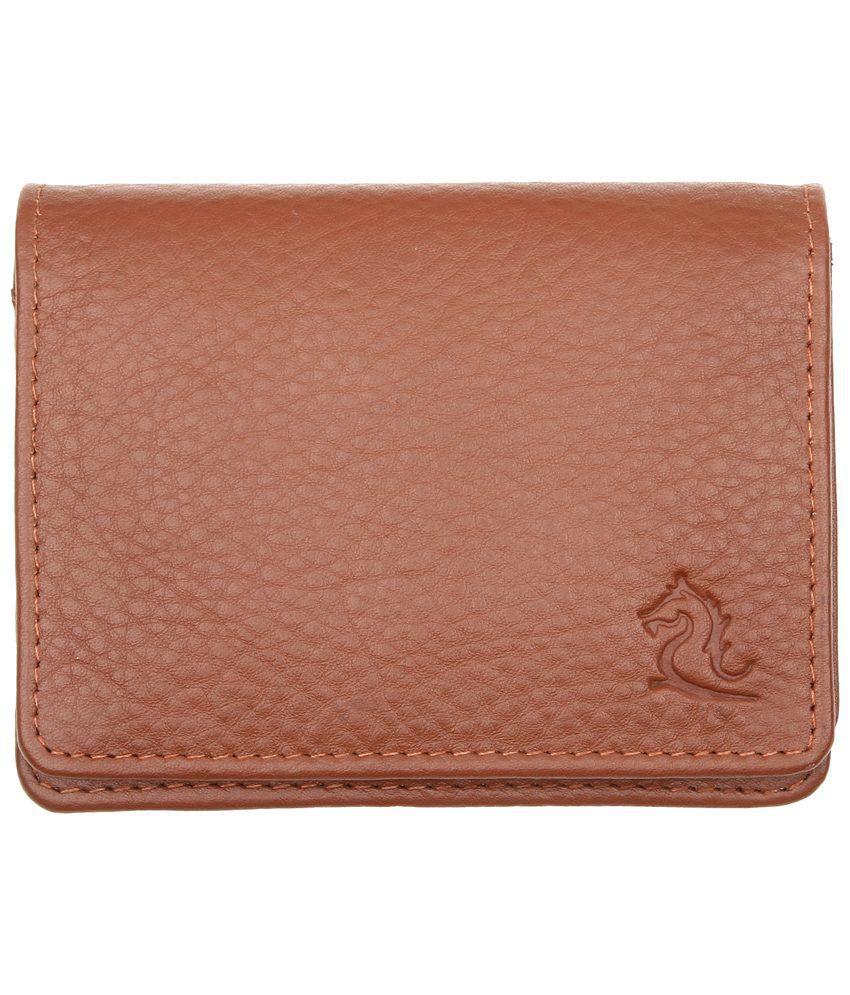Kara 9033 Tan Card Holder