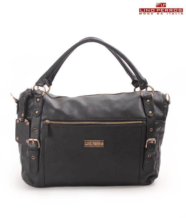 Lino Perros Bewitching Black Handbag