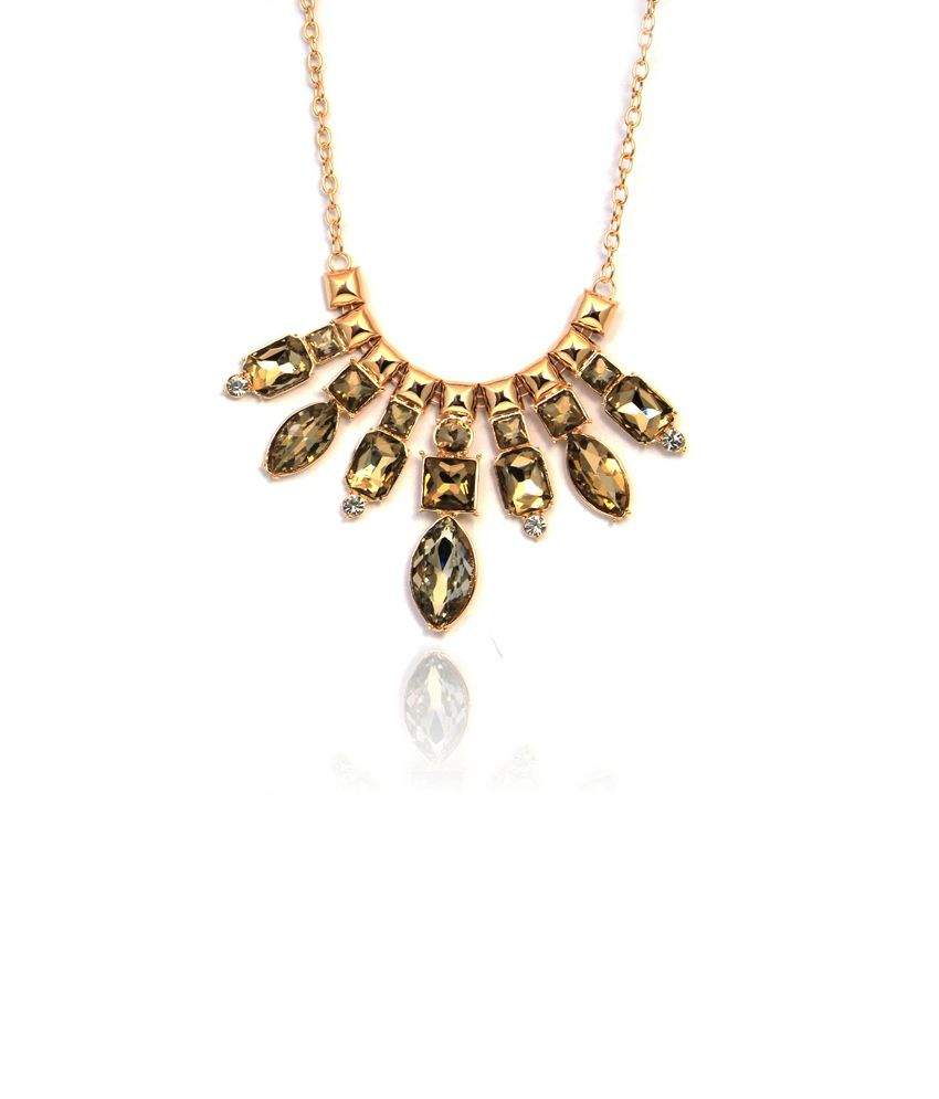 Made For Her Golden Color Necklace