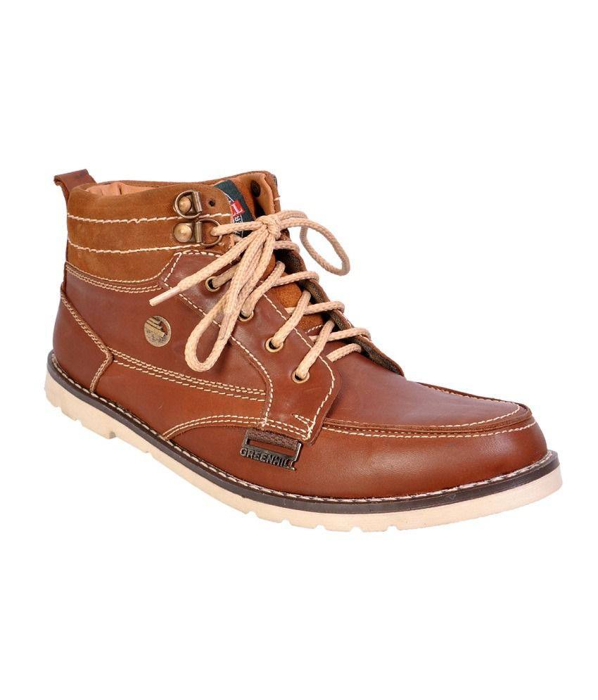 Afrojack leather boots