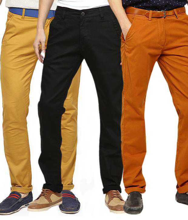 Haute Couture Multi Regular Casuals Pack of 3