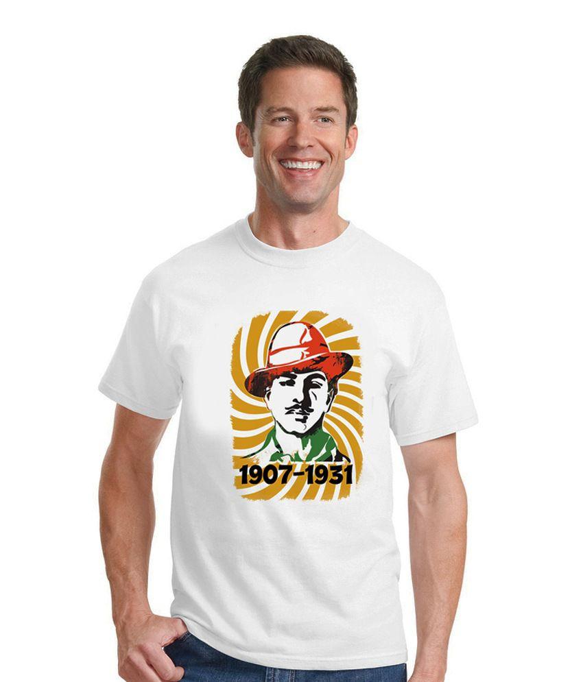 Mugambo Shaheed Bhagat Singh T-shirt For Men