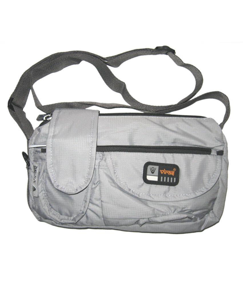 Viras Levis Inspired Sling Bag - Light Gray - Buy Viras Levis ...