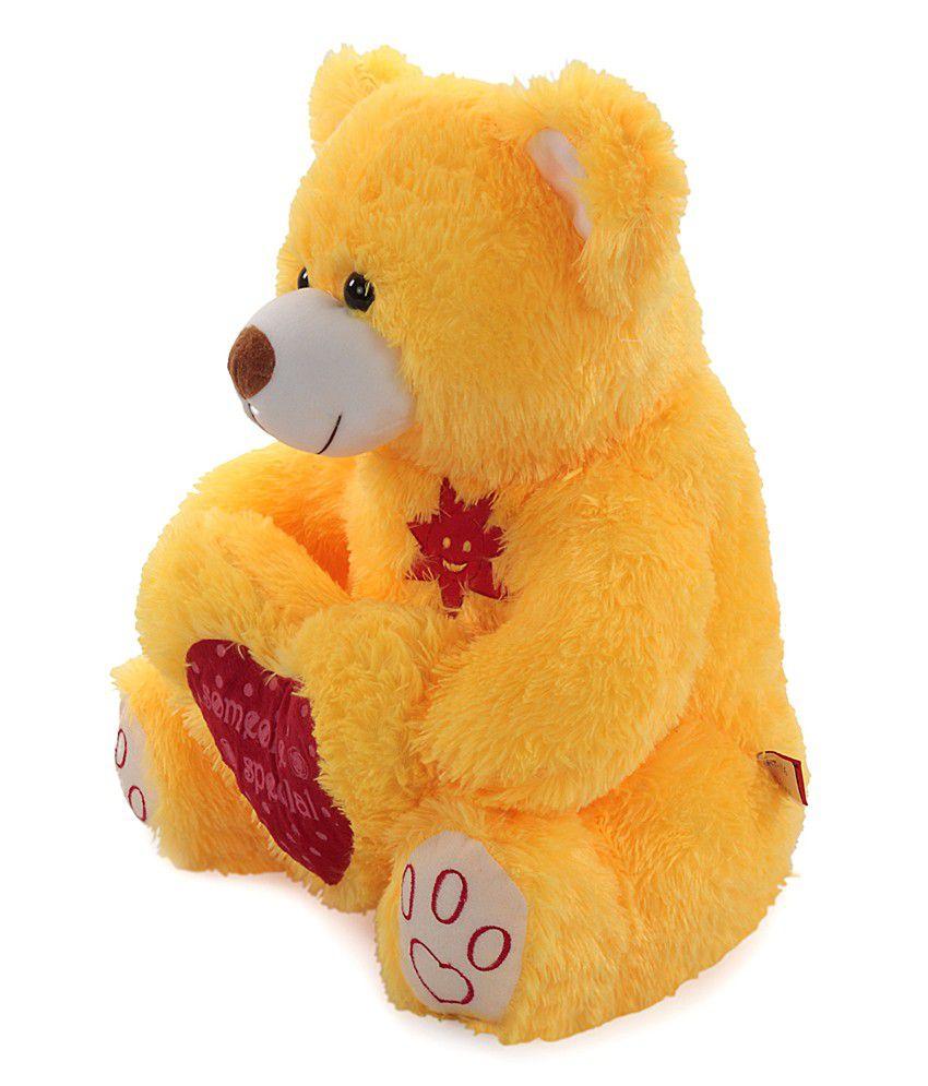 Acctu Special Yellow Heart Teddy Bear-20inch - Buy Acctu
