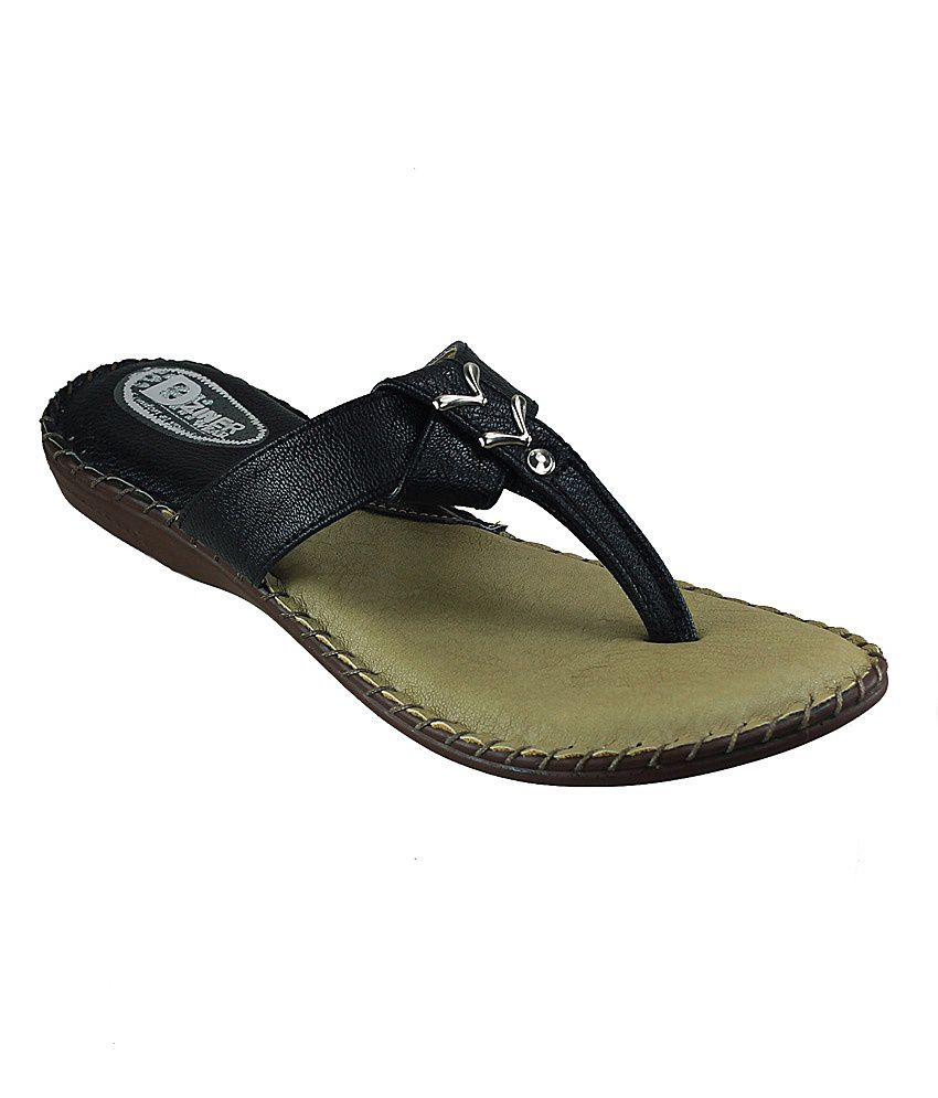 D'ziner reine wm3321820-black women flat Slip-on & Sandal