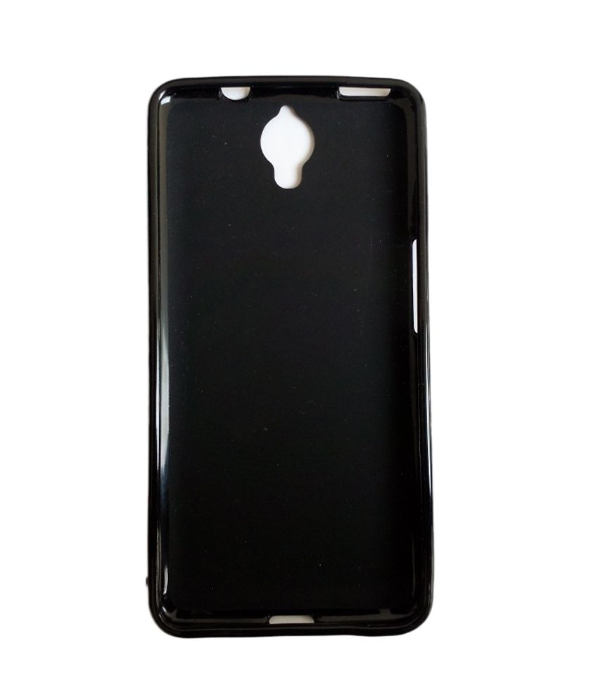 new products 6d215 cd864 Techsupp Back Cover For Alcatel One Touch Idol X Plus - Black