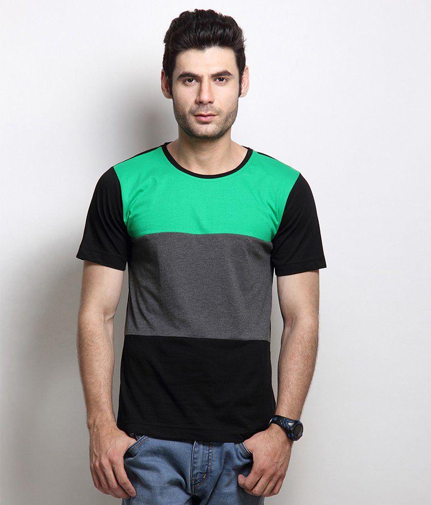RIGO Black Cotton  T-Shirt