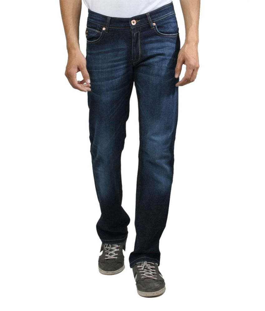 Freecultr Blue Regular  Jeans