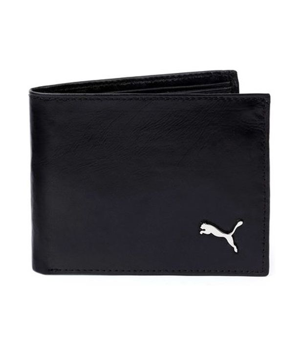 Upto 70% Off On Men's Accessories By Snapdeal | Puma Black Leather Wallet @ Rs.346