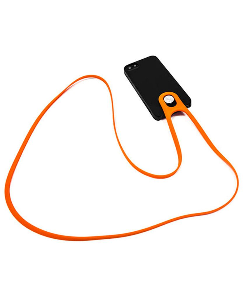 Unikia (Norway) Black and Orange Leash Smart Phone: Buy Unikia