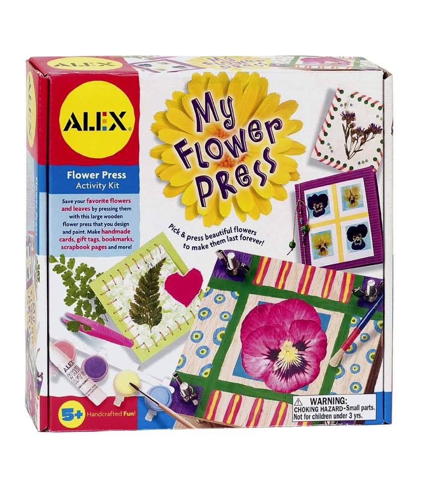 Alex Toys My Flower Press Activity Kit Activity Kits